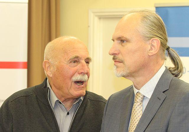 Pécsi Gábor és Őze István. Fotó: JochaPress.hu