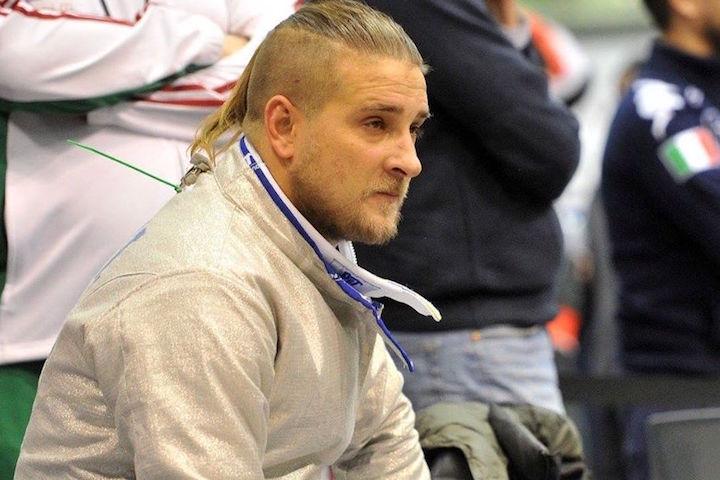 Decsi Tamás tust is alig kapott a csoportmérkőzéseken. Fotó: hunfencing.hu