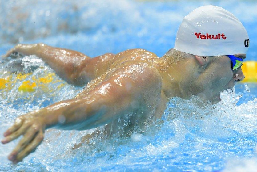 Budapest, 2017. július 25. Kenderesi Tamás a férfi 200 méteres pillangóúszás elődöntőjében a 17. vizes világbajnokságon a Duna Arénában 2017. július 25-én. MTI Fotó: Kovács Tamás