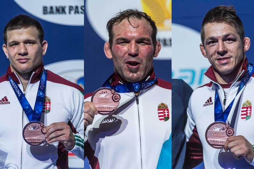 Korpási Bálint, Kiss Balázs és Lőrincz Tamás. MTI Fotó: