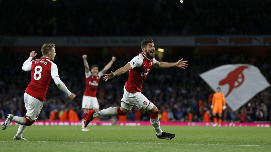 Wenger a 67. percben cserélte be Aaron Ramsey-t és Olivier Giroud-t. Fotó: sportinglife.com